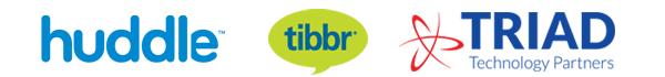 Huddle Triad Tibbr logo